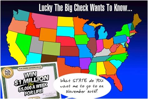 Publishers Clearing House Winners In Mississippi - lucky the big check is back with another mega question pch blog