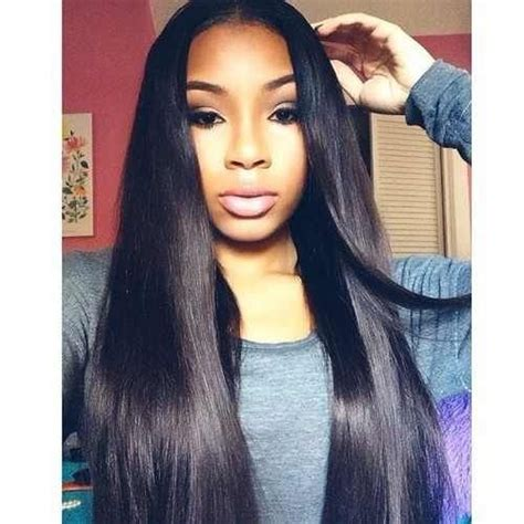 straight sew in hairstyles 17 best images about black weave hairstyles long silky