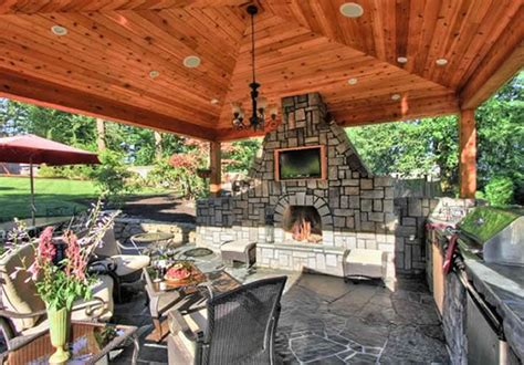 covered outdoor kitchen plans breathtaking covered outdoor kitchen ideas best idea home design extrasoft us