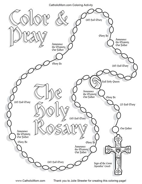 mysteries of the rosary coloring pages coloring home