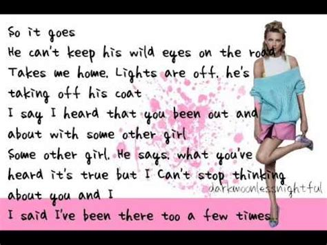 taylor swift style lyrics world news style by taylor swift lyrics youtube