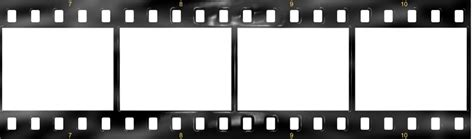 filmstrip template blank clipart collection