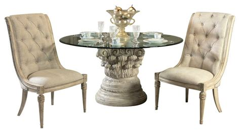 jessica mcclintock dining room furniture american drew jessica mcclintock boutique 4 piece dining