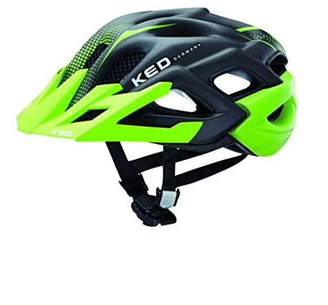 Fahrrad Helm Lackieren by Ked Fahrradhelm Status Jr Green Black Matt 52 59 Cm