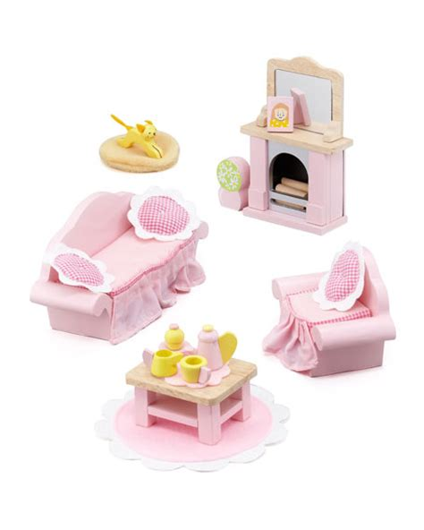 rosebud doll house le toy van quot rosebud quot sitting room dollhouse furniture