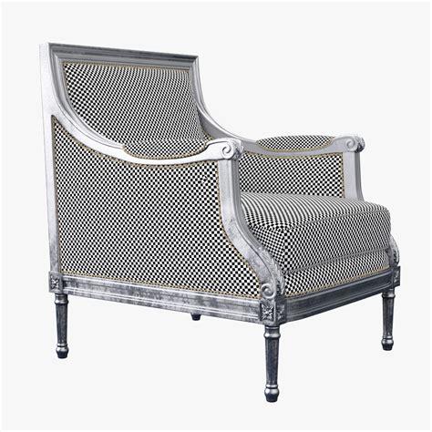 sillon menu classic armchair sillon by rnax 3docean