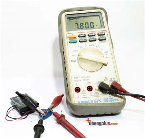 Baterai Multimeter baterai 9v dengan dua baterai lithium ion