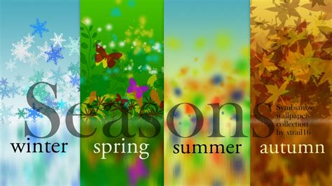 Season To Season four seasons wallpaper wallpapersafari
