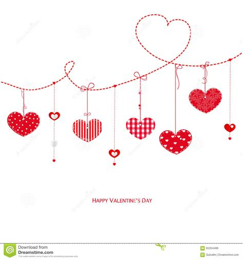 hearts s day card happy valentines day background with hearts