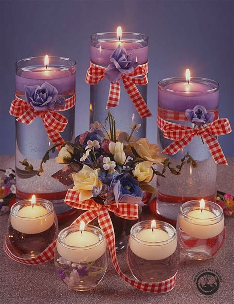 how to make a centerpiece with candles floating candle centerpiece ideas for weddings home