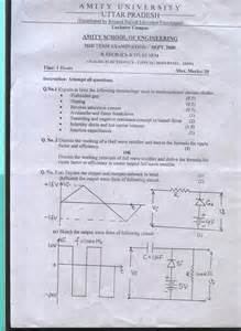 Amity Essay Test by Amity End Semester Examination Model Question Papers
