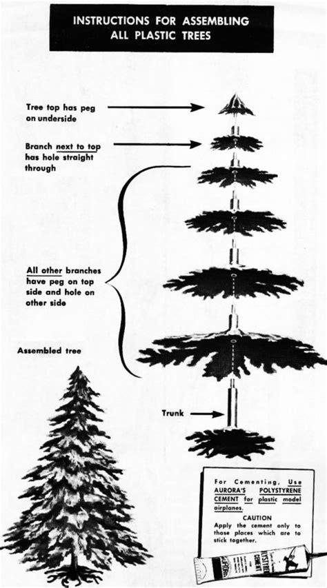 no assembly required christmas tree model motoring ho model tree kit 651