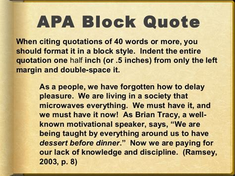 format apa block quote apa style block quotes example image quotes at relatably com