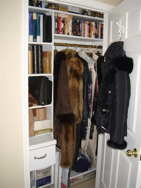coat closet office coat closet organized contemporary closet new york by andrea gary of kerfuffle