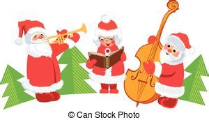 christmas carols christmas concert family  tree snowmen singing christmas carols
