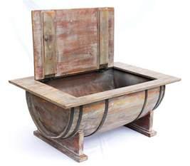 weinfass tisch couchtisch weinfass 5084 tisch aus holz weinregal 80 cm