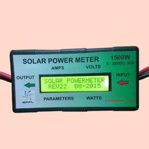 Jual Dc Watt Meter solar power steering diy buildmet technologies