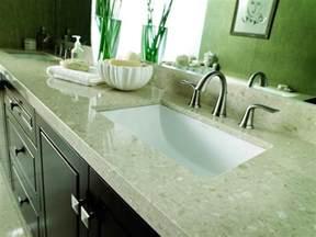 bathroom counter ideas choosing bathroom countertops hgtv