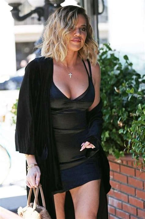 Khloe Black khloe in black dress at emilio trattori