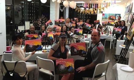 paint nite inland empire groupon paint sip inspire up to 54 inland empire