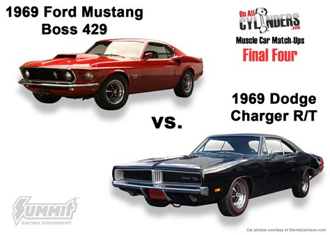 69 challenger vs 69 charger car match ups the four unveiled