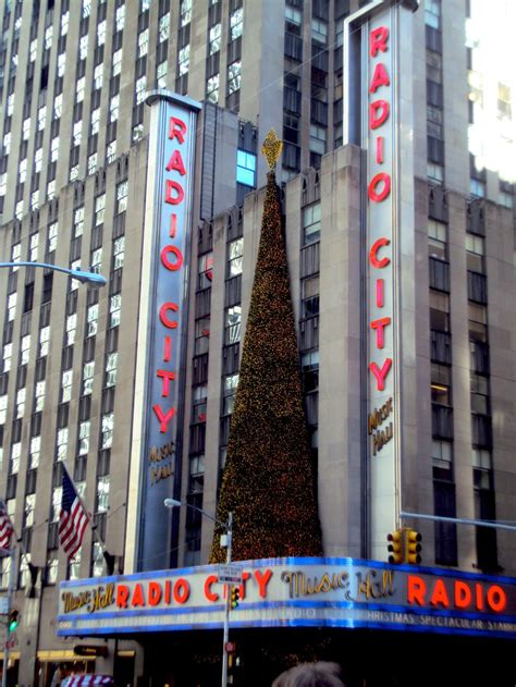 radio city christmas tree radio city and its tree by panicpagoda on deviantart
