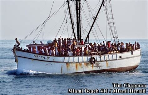 boat lift cuba fleeing cuba for a better life in usa miami beach 411