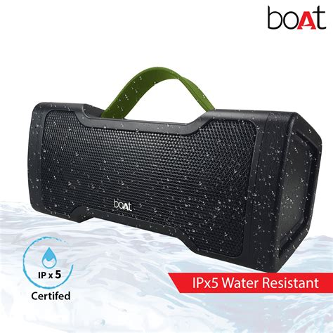 boat bluetooth speakers myntra boat stone 1000 bluetooth speaker with monstrous sound