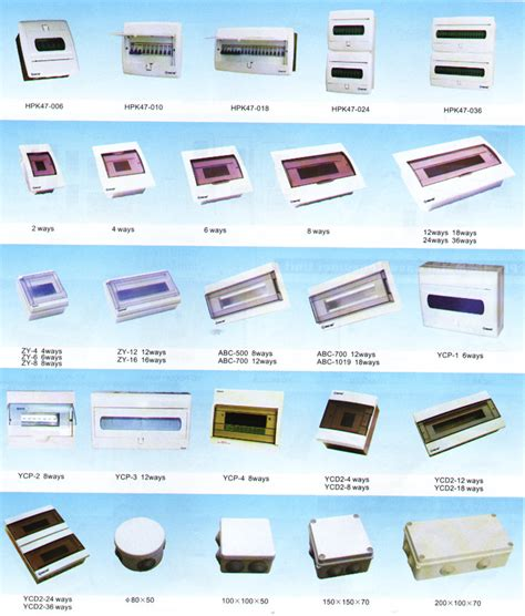electrical accessories distribution box