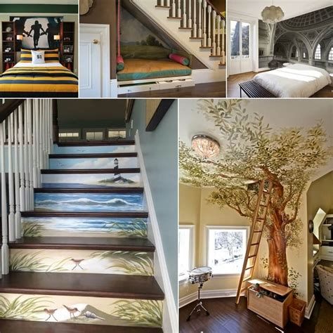 10 creative ways to decorate your home with murals