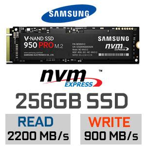 Samsung Ssd 950 Pro Nvme 256gb samsung 950 pro 256gb m 2 nvme solid state drive ssd
