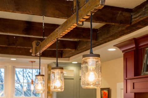 unique diy farmhouse overhead kitchen lights modern farmhouse lighting with wood chandelier id lights