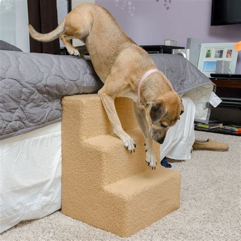 steps for dogs to get on bed lucky indoor pet stairs 3 step pet stairs discount rs