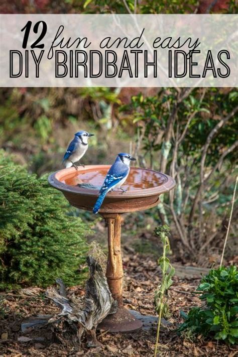 backyard bird baths easy diy why not and diy bird bath on pinterest