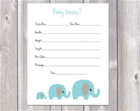 guess the weight of the baby template guess the date calendar template calendar template 2016