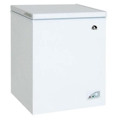 Small Chest Freezers Home Depot Igloo 7 2 Cu Ft Chest Freezer In White Frf472 The Home