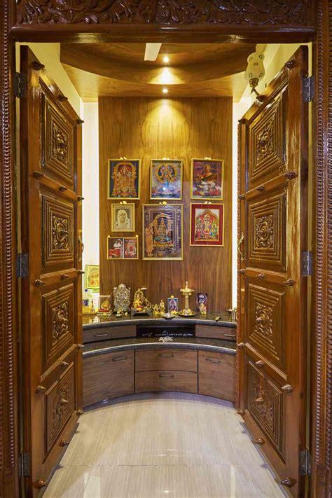 Pooja Room Door Design In Interior Designers Pooja Room Door Designs Interior Design Inspiration