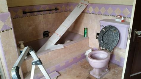 how to rip out a bathroom to rip out a 1930s art deco spanish revival bathroom or to