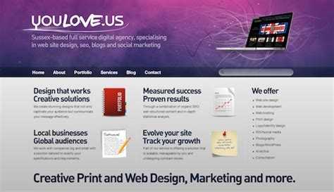 35 colorful web designs to inspire you web design ledger 35 purple web designs to inspire you web design ledger