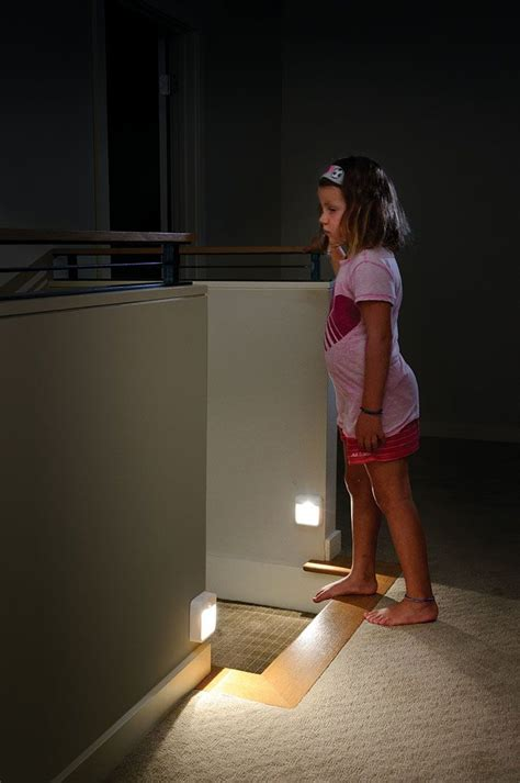 motion activated stair lights do your kids always forget to turn off the hallway night