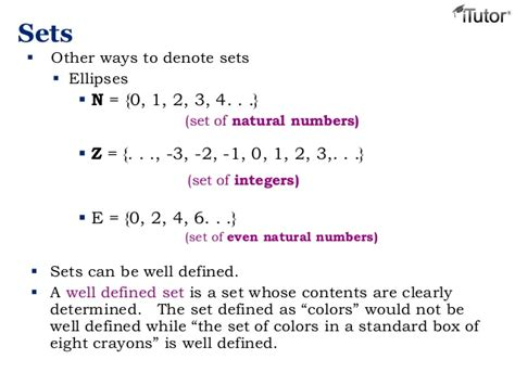 Well Outlined Meaning by Set Theory