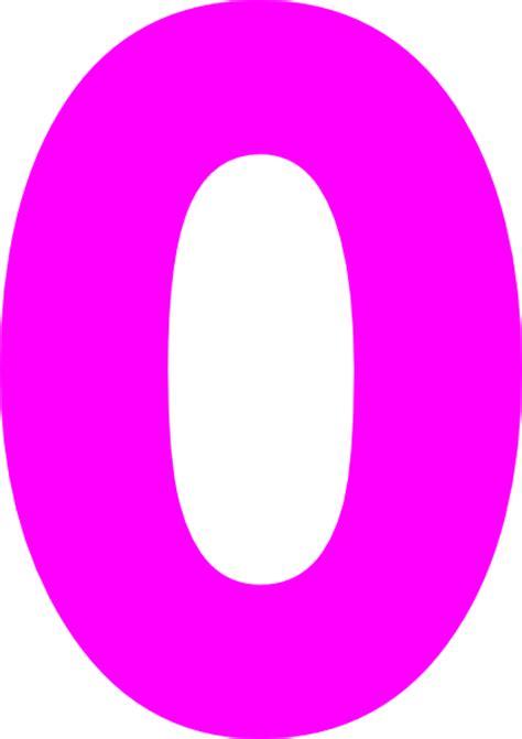 q q numeric pink pink zero clip at clker vector clip