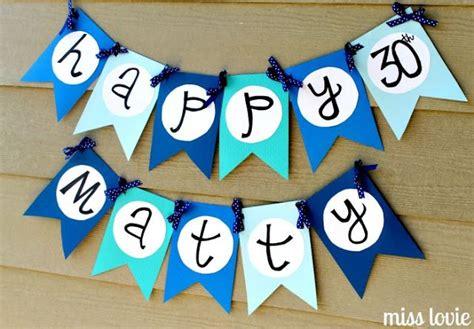 happy birthday banner diy printable miss lovie happy birthday banner tutorial and free