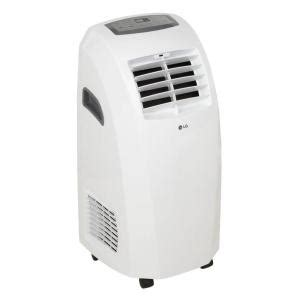 lg electronics 9 000 btu portable air conditioner 72 pint
