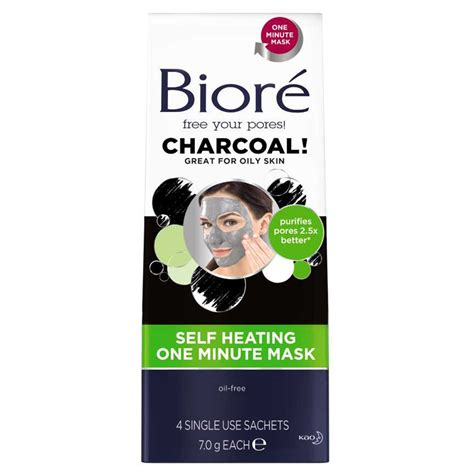 buy self heating one minute mask with charcoal 4