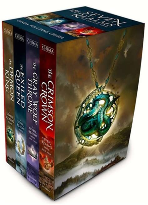 the seven book series the seven realms box set by cinda williams chima reviews discussion bookclubs lists
