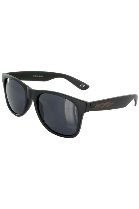 vans spicoli 4 shades sunglasses black frosted