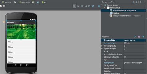listview android creating a listview parallax effect with a sticky header in android dzone mobile