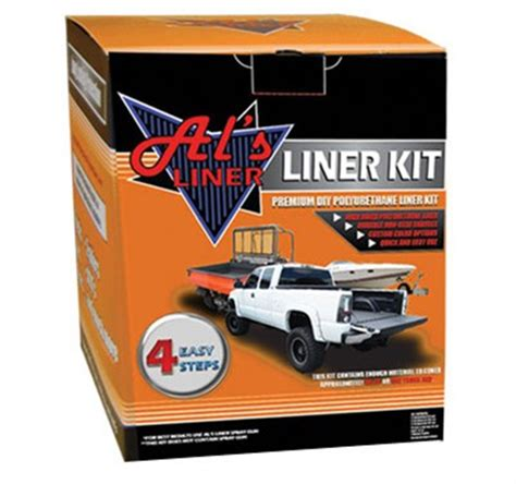 diy truck bed liner 4x4 utv accessories al s liner diy 1 gallon truck bed liner solution spray gun