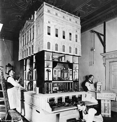 5 foot doll house queen mary s 5 feet tall doll house on display at windsor castle the rich times
